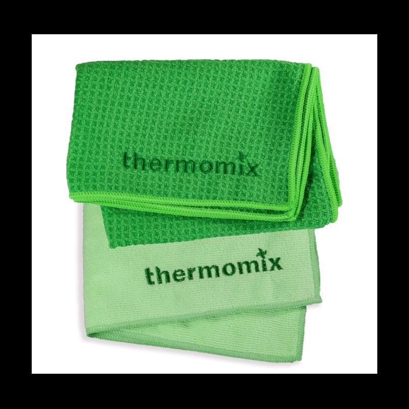 Thermomix Micro-Waffle Geschirrtuch und Reinigungstuch