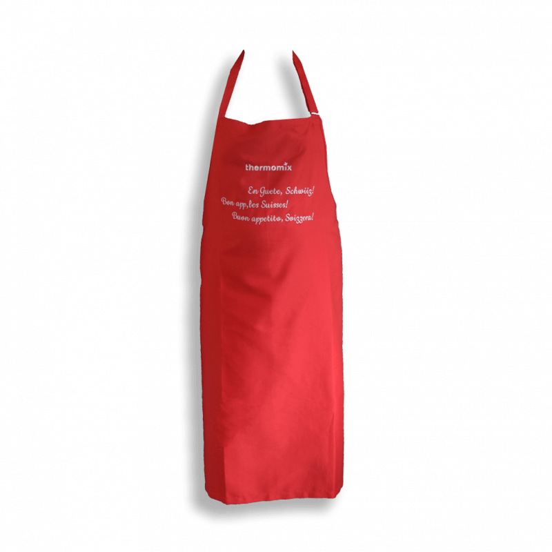 Tablier Thermomix ® rouge