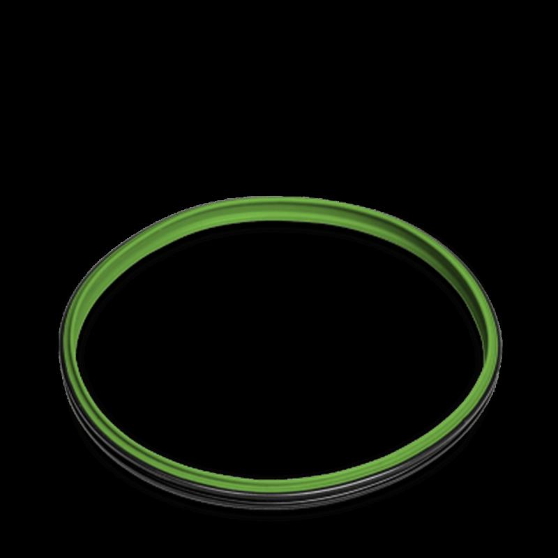 Deckeldichtung Silikon grün TM31