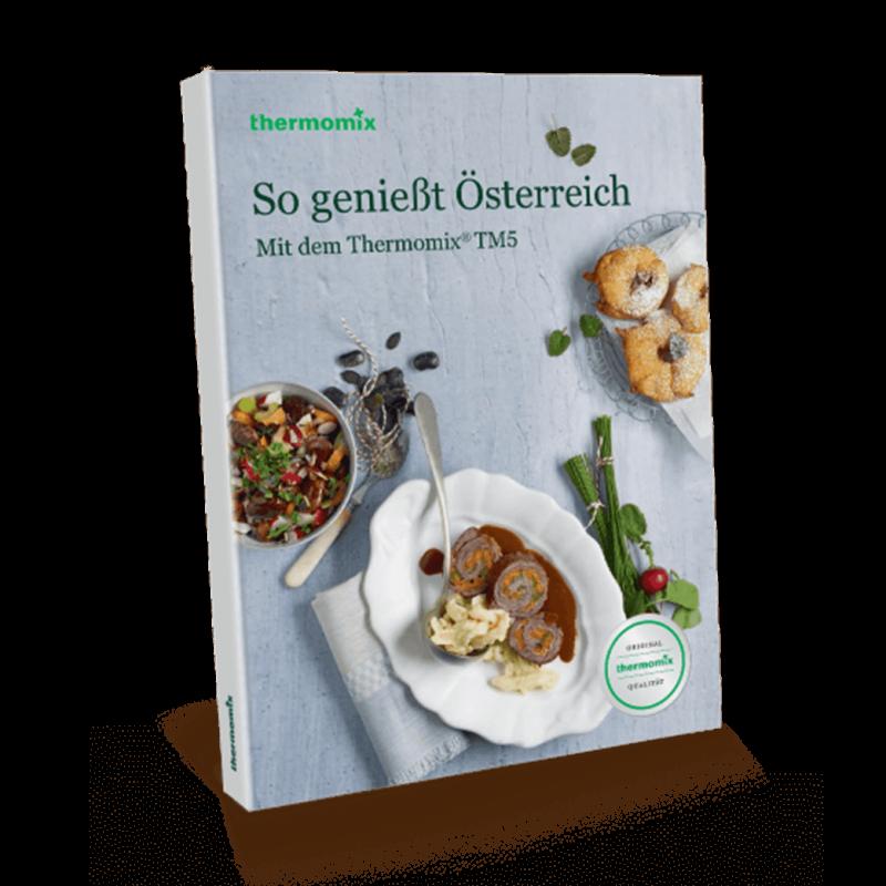 """Kochbuch """"So geniesst Österreich TM5"""""""