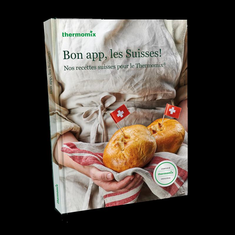 """Livre """"Bon app, les Suisses!"""""""